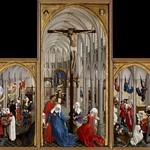 17 Ван дер Вейден. Алтарь 7 Таинств, 1445-50. Музей изящных искусств, Брюссель