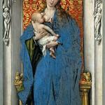 11 Ван дер Вейден. Мадонна 1429-32. Музей истории искусств, Вена
