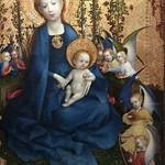24 Стефан Лохнер Мадонна в розовой беседке 1440-1442