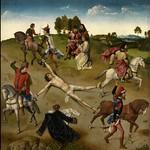 34 Дирк Бутс и Гуго ван дер Гус. Триптих мученичество св.Ипполита