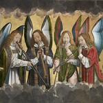 31 Ганс Мемлинг. Музицирующие ангелы
