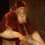58 Тициан. Портрет папы Павла III, 1543-46. Музей истории искусств, Вена
