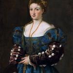 55 Тициан. Красавица, 1536. Палатинская галерея. Флоренция
