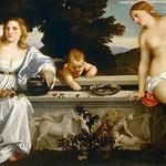 50 Тициан Любовь небесная и земная, 1514, Боргезе, Рим