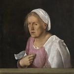 47 Джорджоне. Портрет старухи, 1506. Галерея Академии, Венеция