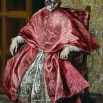 92 Эль Греко. Кардинал Фернандо Нино де Гевара, 1596-1600. Метрополитен