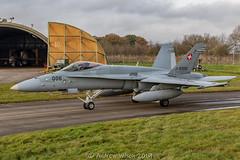 Swiss Air Force F-18 Hornet (@toonaew) Tags: force swiss air hornet f18 yorknite raf leeming staffel18