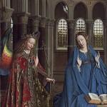 08 Ян ван Эйк - Благовещение, около 1434–1436. Нац. галерея, Вашингтон