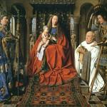 07 Ян ван Эйк. Мадонна каноника Йориса ван дер Пале, 1434–1436