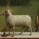 03c Гентский алтарь Центральный образ, св. Агнец