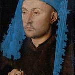 02 Ян ван Эйк. Портрет мужчины в синем головном уборе, ок.1430