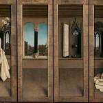 04a Благовещение Гентский аттарь (закрытый)