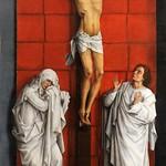21 Ван дер Вейден. Голгофа, 1460. Эскориал