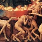 16в Ван дер Вейден. Страшный Суд, фрагмент