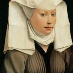 12 Ван дер Вейден Женский портрет, 1435. Берлинская галерея
