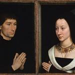 27 Ханс Мемлинг. Парный портрет Томмазо и Марии Портинари, 1470. Метрополитен