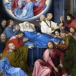 39 Хуго ван дер Гус. Успение, 1480. Музей Гронинге, Брюгге
