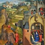 30в Ханс Меммлинг Семь радостей Марии, фрагмент 2, 1480. Мюнхенская Пинакотека