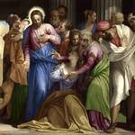 64 Паоло Веронезе. Обращение Марии Марии Магдалины, 1547. Лондонская нац. галерея