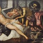 74 Тинторетто. Венера, 1550-е Вулкан и Марс. Мюнхенская Пинакотека