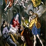 98 Эль Греко. Поклонение пастухов, 1612-14. Прадо