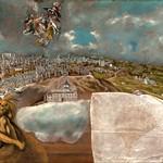 97 Эль Греко. План и вид Толедо, 1610-14 Музей Эль Греко, Толедо