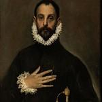93 Эль Греко. Портрет идальго, 1580. Прадо