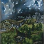 90 Эль Греко. Гроза над Толедо, 1596-1600. Метрополитен
