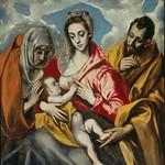 89 Зль Греко. Святое семейство, 1595. Госпиталь де Тавера, Толедо