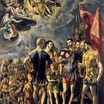 84 Эль Греко. Мученичество св. Маврикия, 1580-82. Эскориал