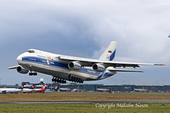 AN124 RA-82079 VOLGA DNEPR (shanairpic) Tags: jetairliner freighter an124 antonov ruslan shannon volgadnepr ra82079