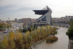 Demolición 6 (Mariano Alvaro) Tags: estadio vicente calderon rio manzanares demolicion madrid m30 autopista cielo arboles canon 5d mark ii arganzuela atletico futbol