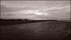 the River Otter flowing into the sea (Philip Watson) Tags: budleighsalterton devon seaside eastdevon riverotter