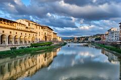 Arno (anj_p 2.5m) Tags: arno bridges uffizi florence historiccenter italy