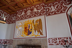 Coat of Arms with a Unicorn and Eagle in Stirling Castle (davidparratt) Tags: coatofarms stirlingcastle scotland