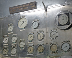Dials (neuphin) Tags: rotterdam ss static museum ship hal hollandamerica dial gauge controlpanel circle