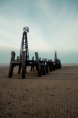 The Pier (aidy14) Tags: beach fylde lancashire pier sea seaside stannes