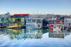 Colors that can make a day (Varvara_R) Tags: canada victoria britishcolumbia fishermanswharf color colors multycolor vibrant bright water reflection reflections house smallhouse toyhouse nikond800 nikonafsnikkor2470mmf28ged