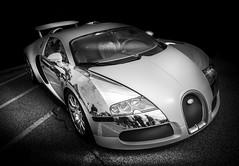 VEYRON (Dave GRR) Tags: bugatti veyron supercar sportscar luxury motorsport autoshow toronto olympus monochrome mono blackandwhite