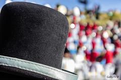 Sombrero de fiesta (Gaby Fil Φ) Tags: puno perú yunguyo departamentodepuno puertotapoje celebraciones fiestaspopulares trajestípicos costumbres lagotiticacaperú surdelperú surdeltiticaca aymaras rutaaymara sombreros sombrerosperuanos