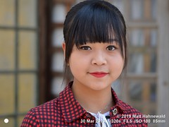 2019-03a Burma (40a) May (Matt Hahnewald) Tags: matthahnewaldphotography facingtheworld qualityphoto people head dollface face eyes eyeliner beautifuleyes mouth lips lipstick expression lookingatcamera hairstyle fringe bangs consensual conceptual beauty fashion style local oriental cultural inspiring photoshoot kalaw shanstate myanmar asia asian burmese person one female girl teen young woman portraiture detail primelens nikond610 nikkorafs85mmf18g 85mm 4x3ratio resized 1200x900pixels horizontal street portrait closeup headshot fullfaceview outdoor naturallight colour posingcamera cute smilingmouthclosed feminine beautiful attractive pretty lovely fabulous virtuous variation distinction