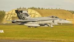 Swiss Air Force McDonnell Douglas F/A-18C J-5018 (Rob390029) Tags: swiss air force mcdonnell douglas fa18c j5018 raf leeming egxe