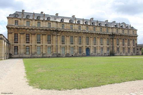 Château de Vincennes : le Pavillon de la Reine
