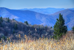 View from The Meadow (esywlkr) Tags: landscape sky mountains nc northcarolina haywoodcounty pisgahnationalforest
