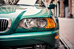 BMW (Karlgoro1) Tags: sony alpha a7r ii mirrorless digital camera ilce7rm2 yashinon 45mm f18 manual lens manhattan new york city street road pattern colors car vehicle light lights building fixed bmw