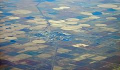 Elkhart, KS (zeesstof) Tags: aerial aerialview businesstrip commercial commercialflight flight geo:lat=3722809967 geo:lon=10166801579 geotagged houstontodenver iahtoden triptodenver unitedairlines viewfromwindow zeesstof