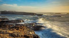 Point Arena-Stornetta Public Lands, CA (explored) (j1985w) Tags: california pointarena ocean waves rocks water longexposure sky cloud sunset greatphotographers