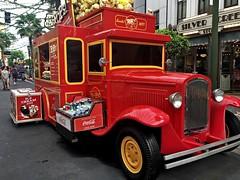 Drinks Truck (DaveFlker) Tags: drinks truck singapore universal studios red