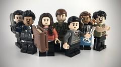 LEGO Umbrella Academy (theoctopirate_customs) Tags: lego umbrella academy luther diego allison klaus number five ben vanya hargreeves purist custom minifigure minifigures afol