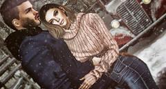 ᴵᶠ ʷᵉ ᶜᵒᵘˡᵈ ʲᵘˢᵗ ˡⁱᵛᵉ ⁱⁿ ᵗʰⁱˢ ᵐᵒᵐᵉⁿᵗ ᵃⁿᵈ ʲᵘˢᵗ ʰᵒˡᵈ ᵒⁿ.... (scarlettrose.karsin) Tags: navajoposes blog blogger blogging secondlife sl couple slcouple legacy addams signature catwa doux modulus season winter holiday avatar love sllove snow snowfall